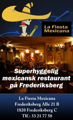 La Fiesta Mexicana - Mexicansk restaurant