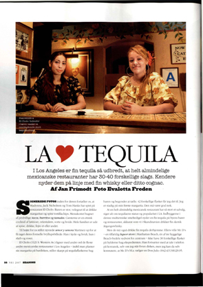 la loves tequila Page 1